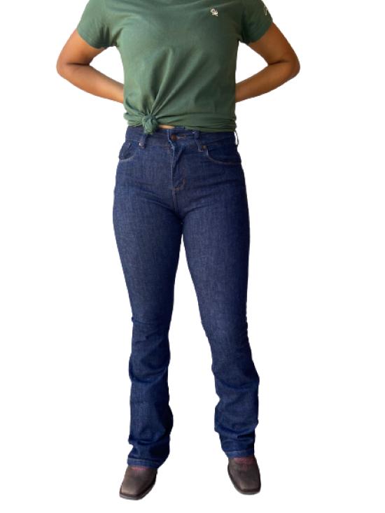 Calça Jeans Feminina Sally Flare Wrangler WF2001UN