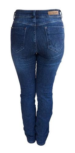 Calça Jeans Feminina Sally Wrangler WF2000