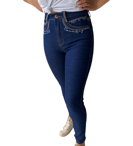 Calça Jeans Feminina Skinny Hot Pants 20614