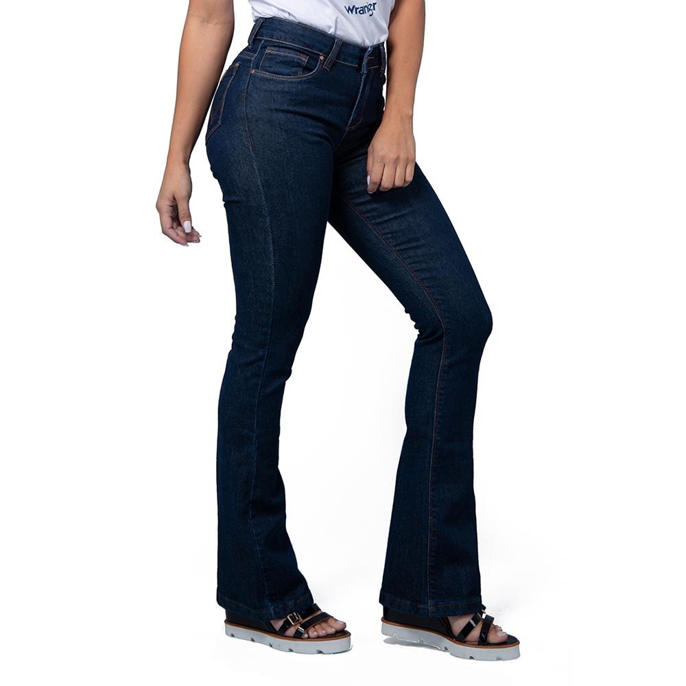 Calça Jeans Feminina Wrangler Sally Flare WF2013