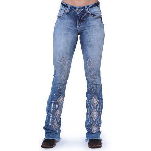 Cal 231 A Jeans Feminina Zenz Western Utah Celeiro Country Com