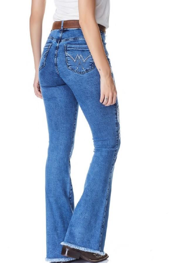 Calça Jeans Flare Feminina Minuty Country 20742