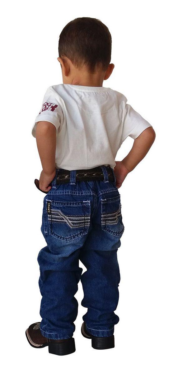 Calça Jeans Infantil Docks Black