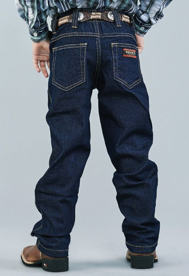 Calça Jeans Infantil Docks Tradicional Lycra