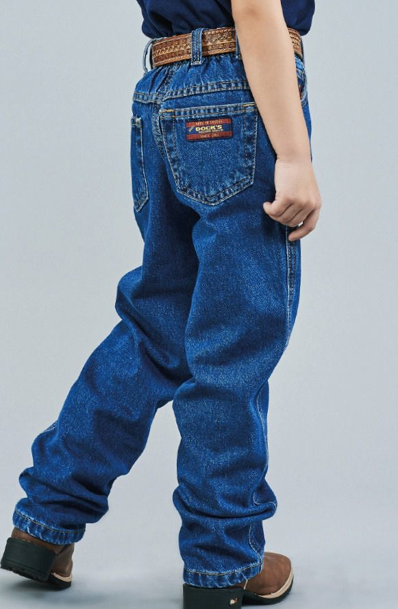 Calça Jeans Infantil Docks Tradicional