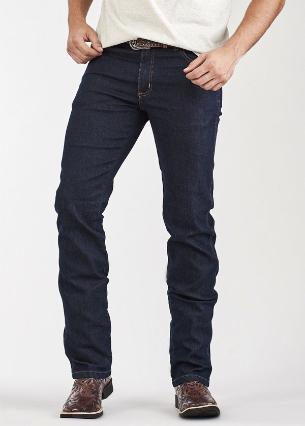 Calça Jeans Masculina Amaciada Kadenza Docks Western