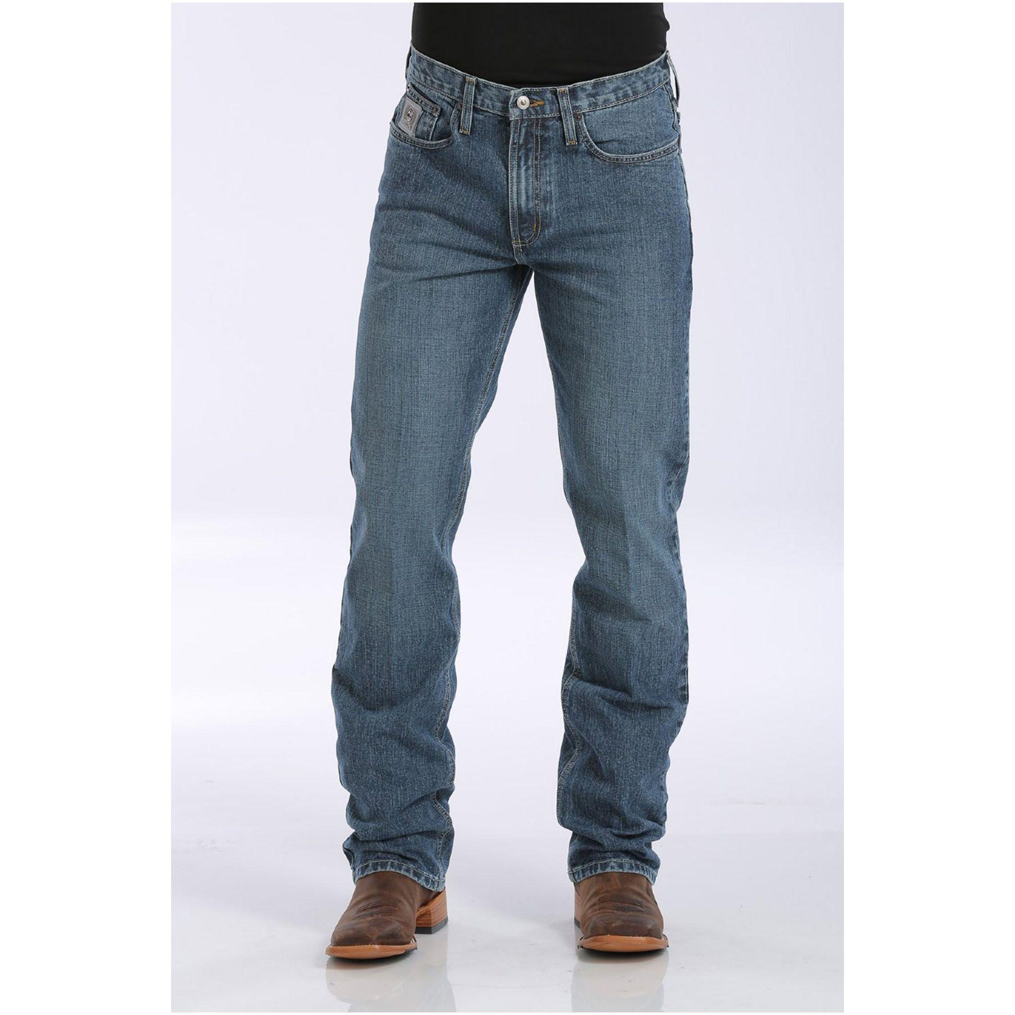 Calça Jeans Masculina Cinch Silver Medium Stonewash