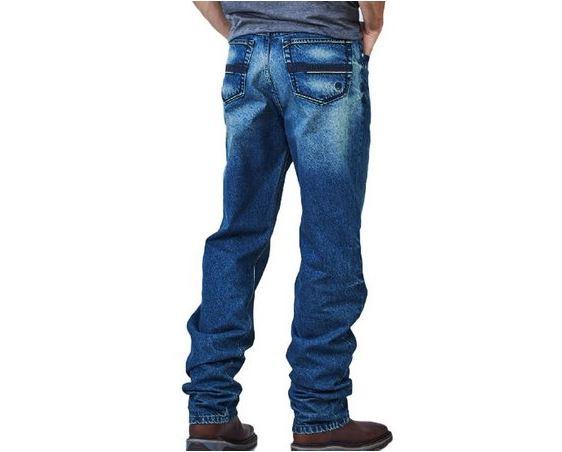 Calça Jeans Masculina Docks Black Dark