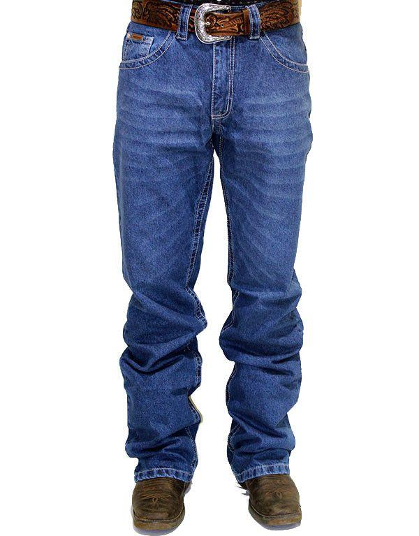 Calça Jeans Masculina Docks Filete de Couro