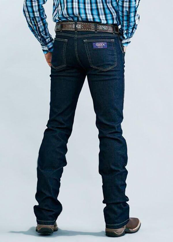 Calça Jeans Masculina Docks Tradicional Lycra Preto