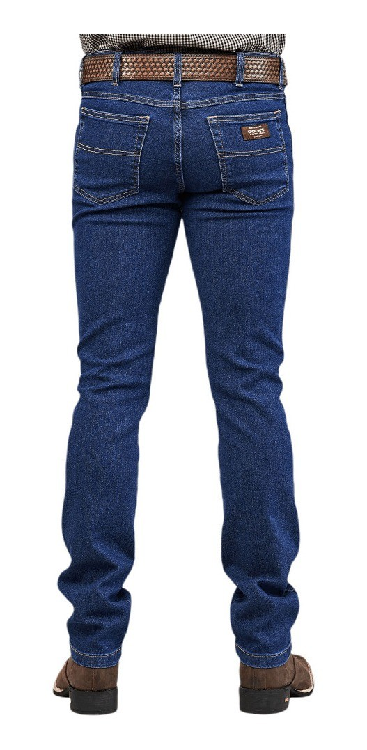 Calça Jeans Masculina Docks Western Dallas Stone