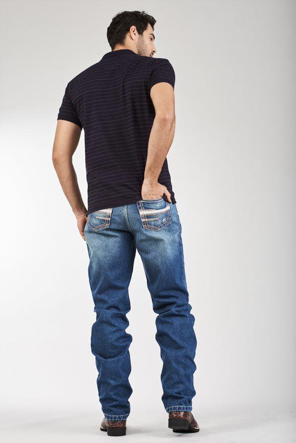 Calça Jeans Masculina Docks White