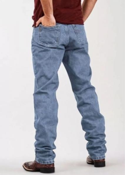 Calça Jeans Masculina Docks White Combate Delavê