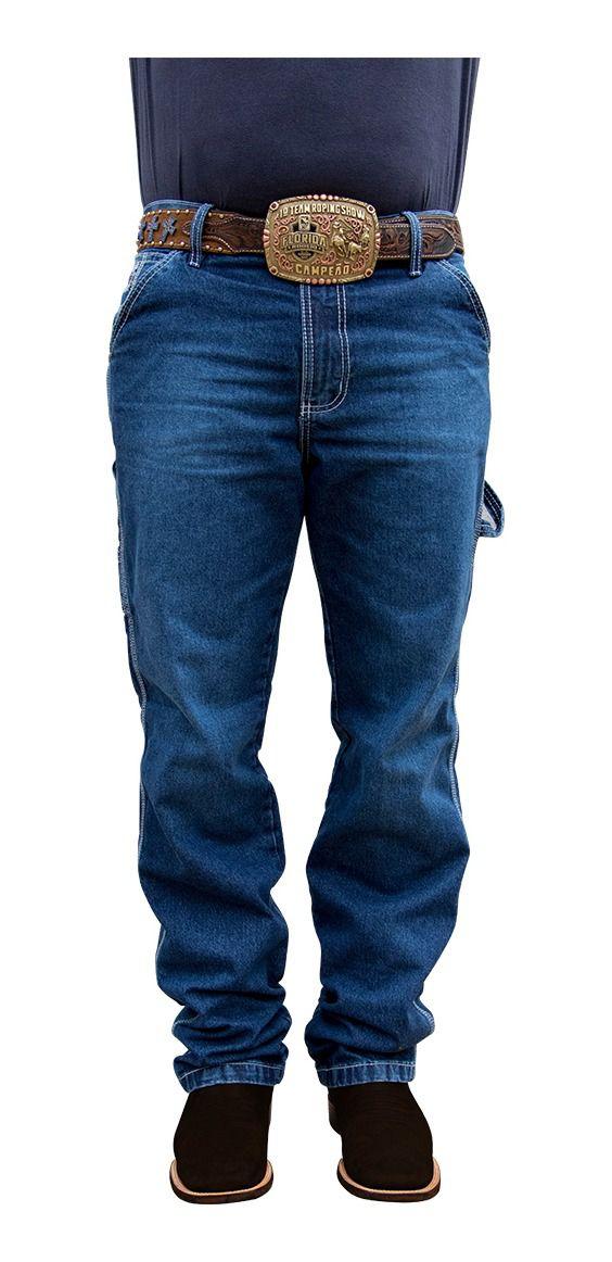 Calça Jeans Masculina King Farm Carpenter Bronze