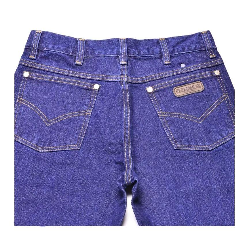 Calça Jeans Masculina Docks Tradicional Amaciado-Tamanho Especial