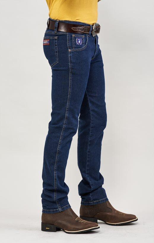 Calça Jeans Masculina Tradicional Lycra Docks Stone