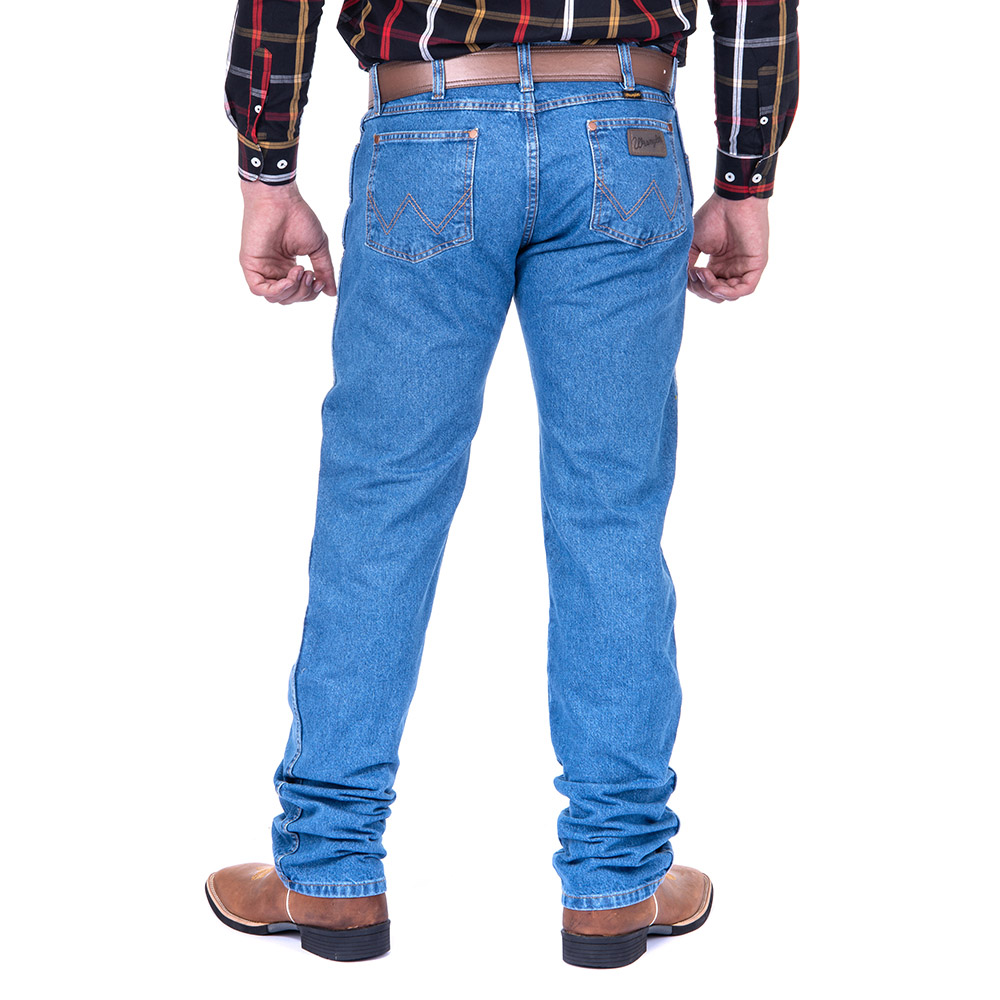 Calça Jeans Masculina Wrangler Big e Tall Western 13MWZGK38 Plus Size