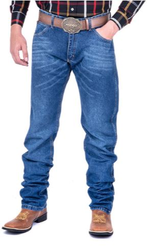 Calça Jeans Masculina Wrangler Competition Relaxed Fit 1MWXDY37
