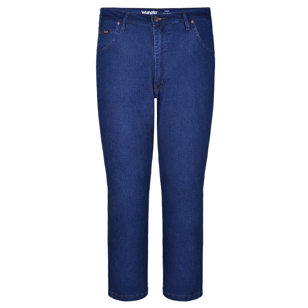 Calça Jeans Masculina Wrangler Lycra Cody Clasic WM1603 Plus Size