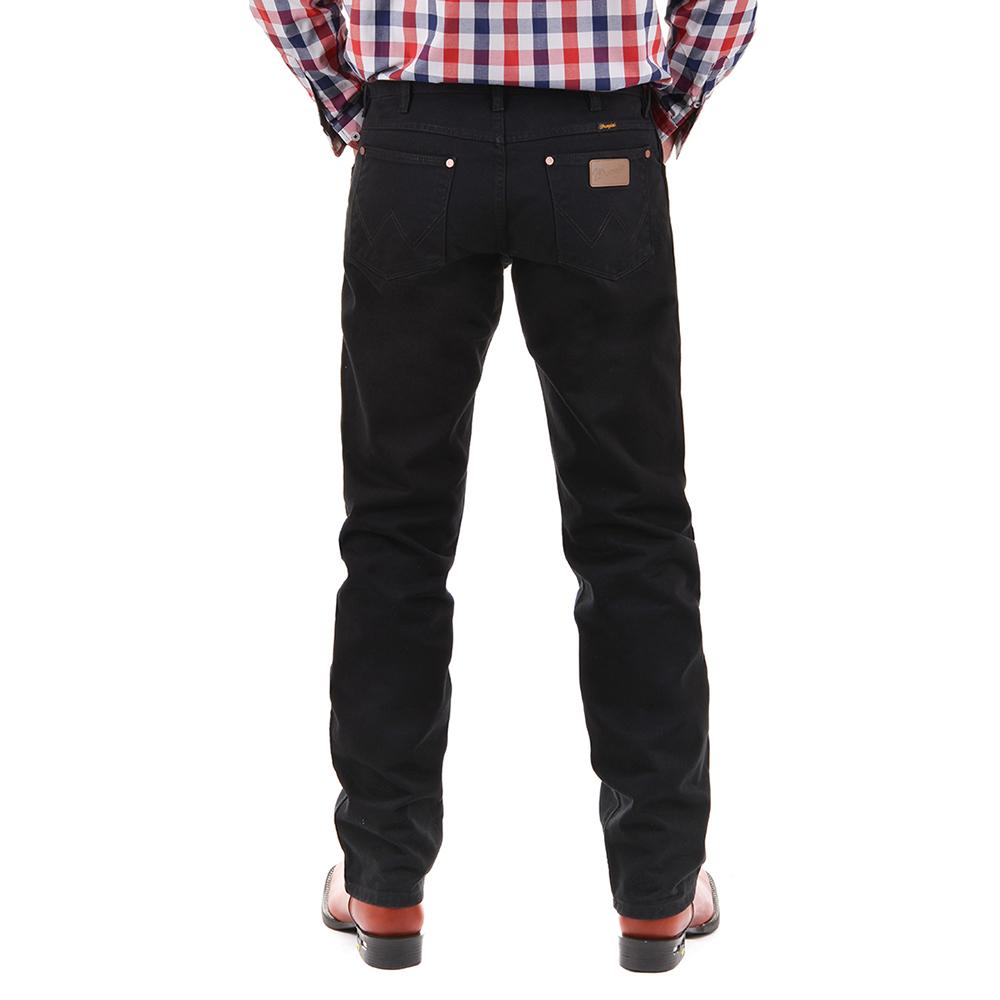 Calça Jeans Masculina Wrangler Western Cowboy Cut Preta 13MWZWK36