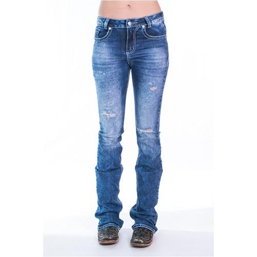 c8bfd81dfbff9 Calça Feminina Jeans Sky Zenz Western