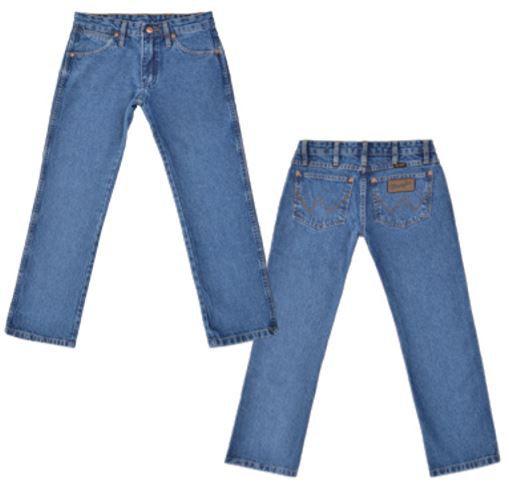 Calça Jeans Wragler Junior Western Cowboy 13MWJGK