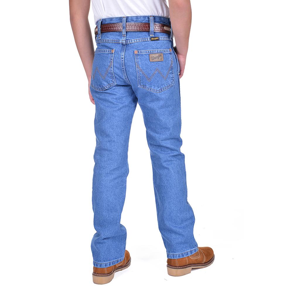 Calça Jeans Wrangler Junior Western Cowboy 13MWJGK