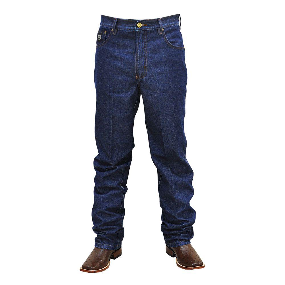9c2ba4b7ca Calça Jeans Masculina Tradicional Black King Farm