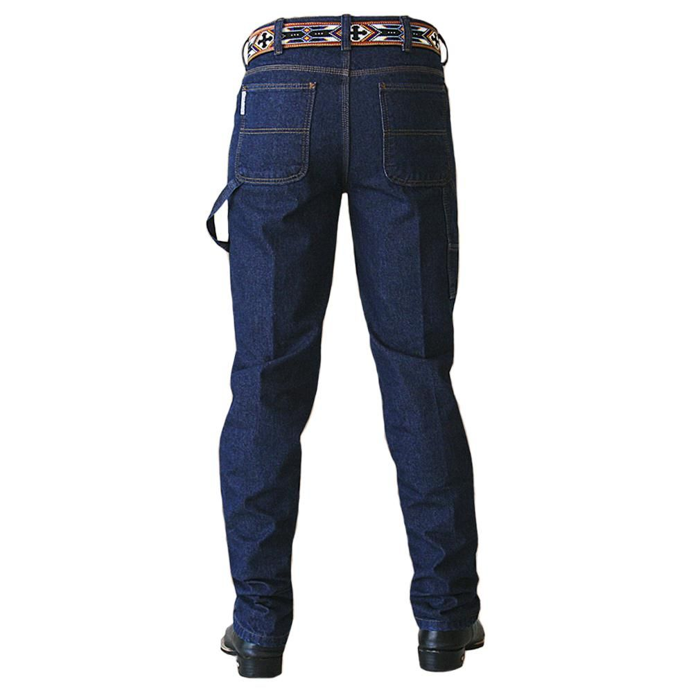 Calça Jeans Masculina Carpenter Black King Farm