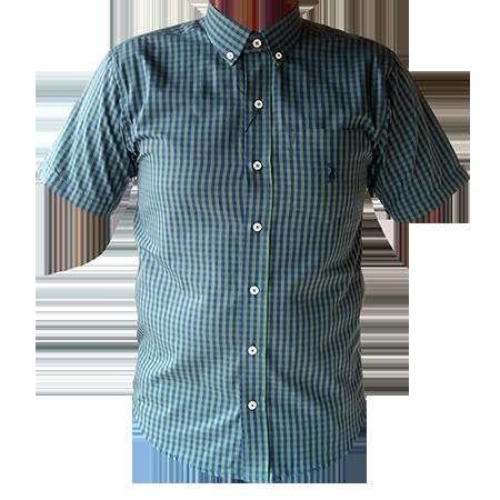 0db6f1332e Camisa Austin Masculina Xadrez Verde