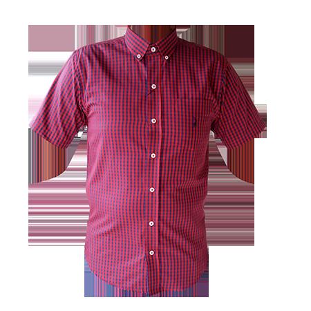 e5d4ebb65b Camisa Austin Masculina Xadrez Vermelho