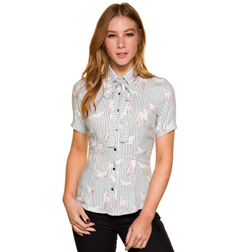 Camisa Feminina Escaramuça Guarda