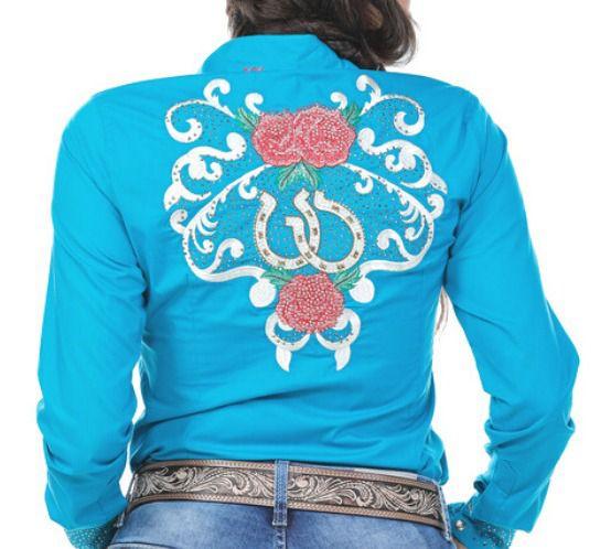 Camisa Feminina Miss Country Cowgirl 305