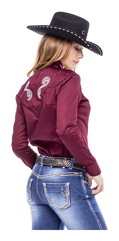 Camisa Feminina Zenz Western Casino ZW0121027