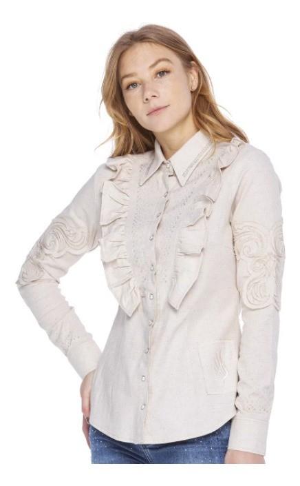 Camisa Feminina Zenz Western Klein ZW0320018