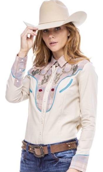 Camisa Feminina Zenz Western Mojave ZW0121023