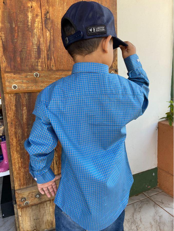 Camisa Infantil Austin 1011INF