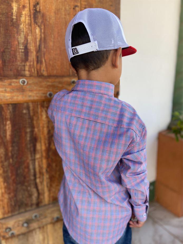 Camisa Infantil Austin 1013INF