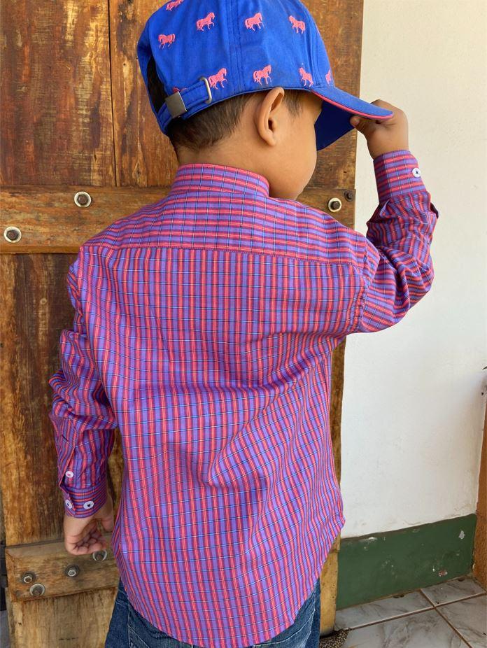 Camisa Infantil Austin 1016INF