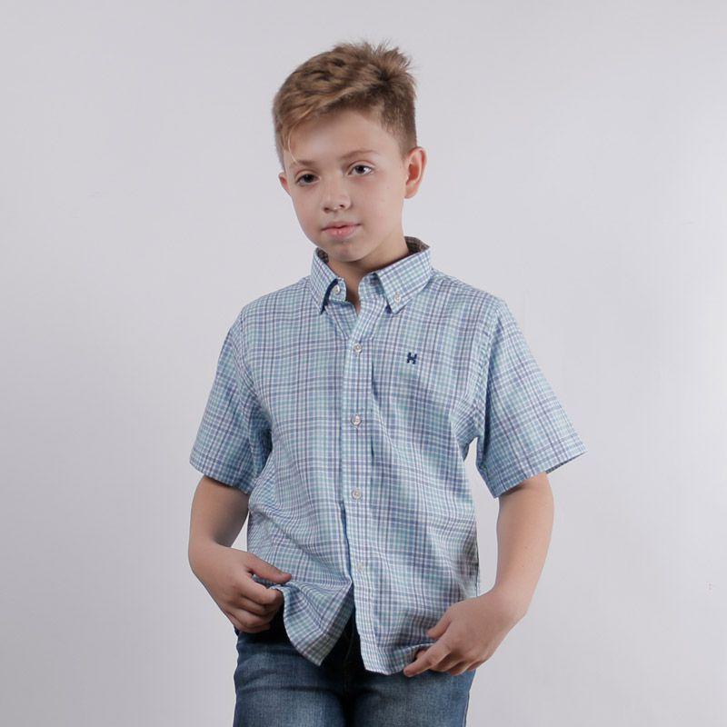 Camisa Infantil TXC Brand Xadrez 17016