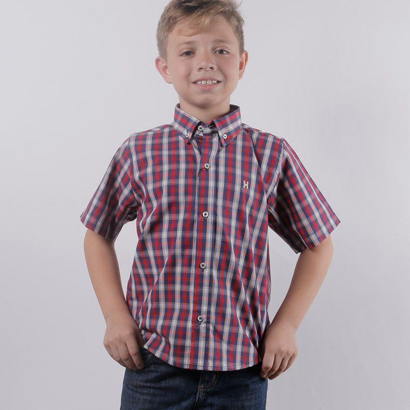 Camisa Infantil TXC Brand Xadrez 17019