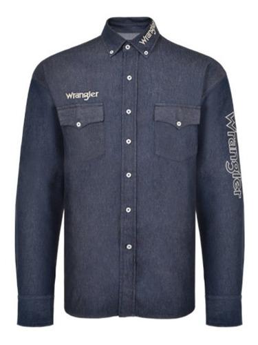 Camisa Jeans Masculina Wrangler WM13110M