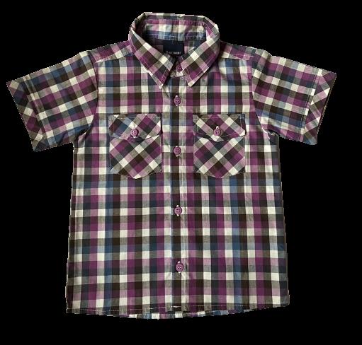 Camisa Manga Curta Baby Boy Kenttana