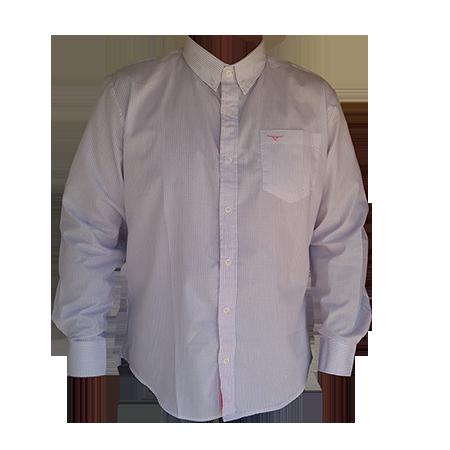 Camisa Masculina King Farm Xadrez Roxa