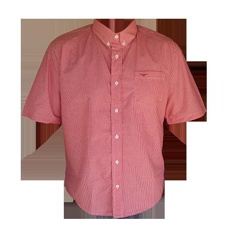 a983f5a759 Camisa Masculina King Farm Xadrez Vermelha