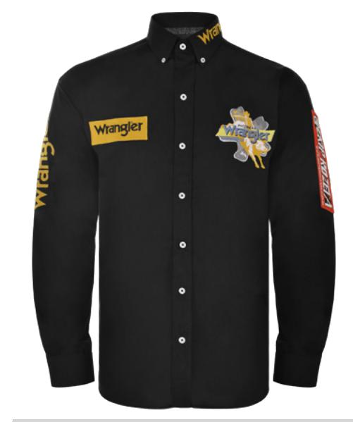 Camisa Masculina Wrangler Ekip Rozeta WM13104