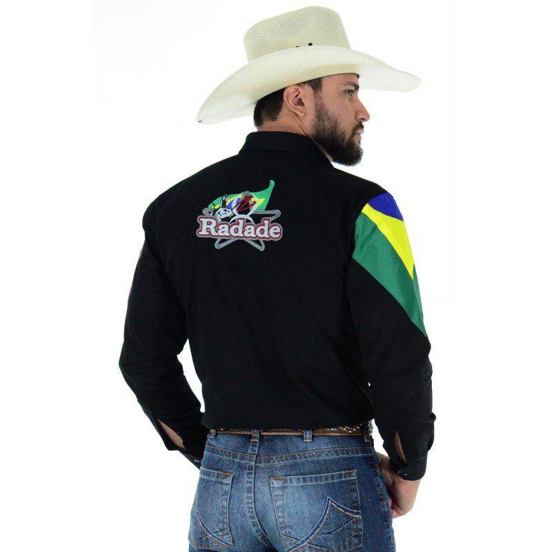 Camisa Masculina Radade Barretos HC Preta