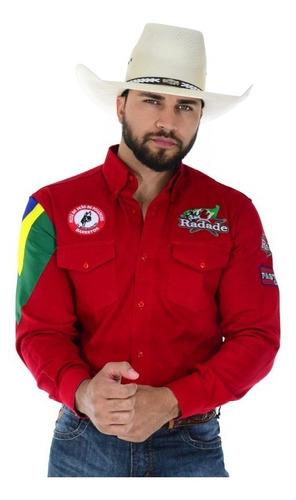 Camisa Masculina Radade Barretos HC Vermelho