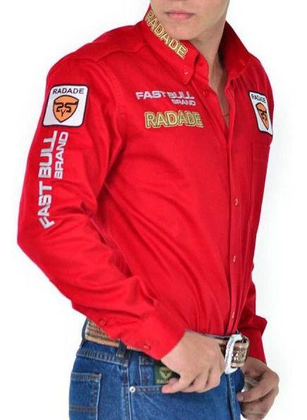 Camisa Masculina Radade Brands Vermelha