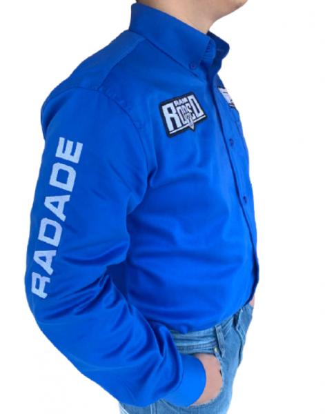 Camisa Masculina Radade Rodeo Ram Azul